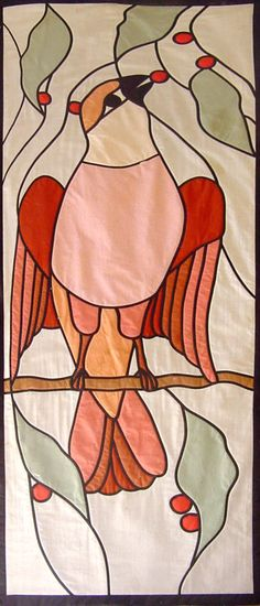 Stained Glass Bird by Ruth Blanchet at Arbee Designs