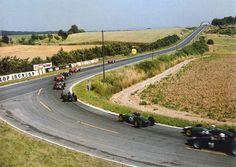 Landschaftsbau Modellrennbahn Circuit de Reims Gueux