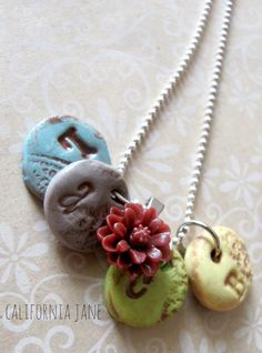 Initial Mothers Necklace - Mothers Day