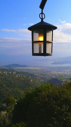 Makrinitsa Street Lamp, Perfect World, Bird Feeders, I Am Awesome, Cities, Greece, Lamps, Relax, Feelings