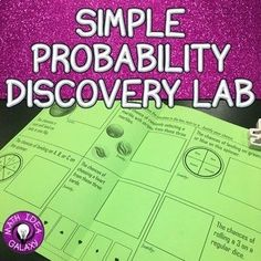 This discovery lab is designed to get students to discover the pattern between a simple event and the chances of one outcome.  They will do observations and write conclusions.