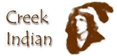 The Creek Indians (Muskogee) belong to the Muckhogean linguistic stock. The Creek Confederacy was made up of the remains of several other tribes in Georgia and Alabama, which was from the South-East, then pushed into Alabama, and later into Oklahoma.