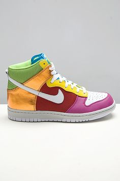 sale retailer 064e4 987d4 Nike Womens Dunk High Premium Metallic Rainbow media gallery on  Coolspotters. See photos, videos, and links of Nike Womens Dunk High  Premium Metallic ...