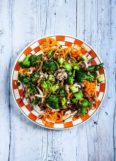 Stir-fry sesame chicken and carrot noodles | Hemsley + Hemsley Recipe - Red Online