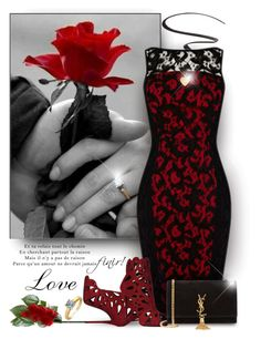 """""""Love!"""" by truthjc ❤ liked on Polyvore featuring мода, Maybelline, Giuseppe Zanotti, Fremada, Yves Saint Laurent, women's clothing, women, female, woman и misses"""