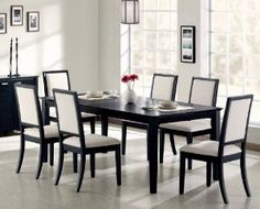 7pc Formal Dining Table