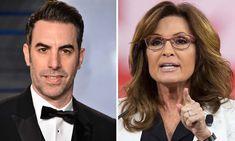 'Evil, exploitative and sick': Sarah Palin says Sacha Baron Cohen duped her Sacha Baron Cohen, Some Jokes, Sarah Palin, Military Veterans, New Shows, Dupes, Comedians, Sick, Comedy