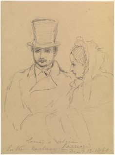 1860; Louis and Alice by QV