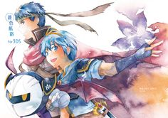 MetaKnight, Marth and Ike #SmashBros