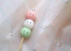 Dango, dango, dango...daikazoku :] charm with dangos from anime Clannad. link: http://www.youtube.com/watch?v=afMQaI-viYs=PL8E67C4CC9E1A26A4=27 Hope u like it, xoxo.