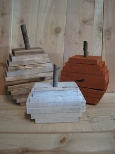 Set of Fall pallet pumpkin decor 3 finishes to choose from by ATHOMEPROJECTS on Etsy https://www.etsy.com/listing/248509141/set-of-fall-pallet-pumpkin-decor-3