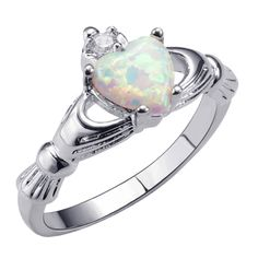 Fine Jewelry Jewelry & Watches Liberal Brilliant Pearl Ring With Color American Diamond And 92.5 Sterling Silver Ir 32
