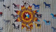 Navajo Quilt Maker Susan Hudson Pays Tribute to Plains Ledger Art  http://indiancountrytodaymedianetwork.com/2012/07/12/navajo-quilt-maker-susan-hudson-pays-tribute-to-plains-ledger-art-122698
