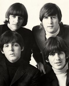 Classic Beatles Photo...Richard Starkey, John Lennon, Paul McCartney, and George Harrison