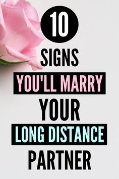How do you know if your long distance boyfriend or girlfriend is 'the one'? Here are 10 powerful signs that you'll be together for many decades to come!   . . . #longdistance #longdistancelove #longdistancerelationship #longdistancerelationships #longdistancecouple #longdistancetomarriage #proposals #longdistanceadvice #top10 #weddings Long Distance Dating, Long Distance Boyfriend, Long Distance Love, Distance Relationships, Marry You, Proposals, Did You Know, Thankful, Advice