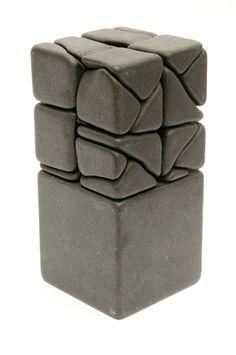 Rock Sculpture, Outdoor Sculpture, Beton Design, Laser Art, Deco Originale, Concrete Art, Pottery Techniques, Stone Crafts, Porcelain Ceramics