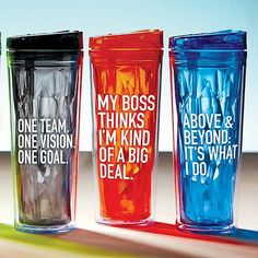 Vibrant Prism Tumbler - Above and Beyond: It's What I Do Staff Benefits, Volunteer Gifts, Employee Gifts, Staff Appreciation, Team Gifts, Above And Beyond, Diy Candles, Corporate Gifts, Drinkware