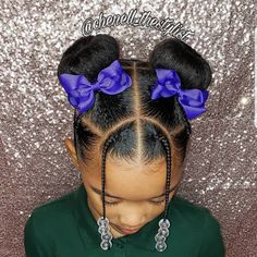 70 Braided Hairstyles for Winter 2018 - Hairstyles Trends Black Kids Hairstyles, Cute Little Girl Hairstyles, Little Girl Braids, Baby Girl Hairstyles, Natural Hairstyles For Kids, Kids Braided Hairstyles, Braids For Kids, Girls Braids, Kids Crotchet Hairstyles