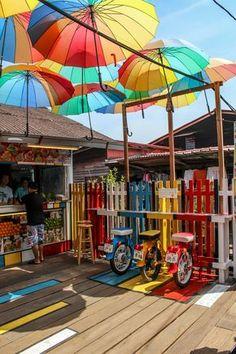 Clan Jetties Of Penang, George Town, Malaysia