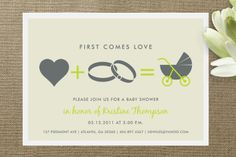 Paper Goods - Baby Shower and Announcements