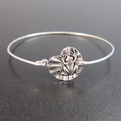 Armreif Küss den Frosch - Silber Armband von frostedwillow auf DaWanda.com
