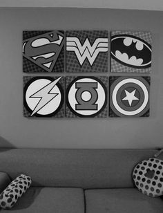 - Superman;Wonderwoman;Batman;  Flash;GreenLantern;CaptainAmerica.