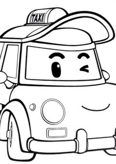 Pin by Coloring Pages 4 U on Free Truck Coloring Pages