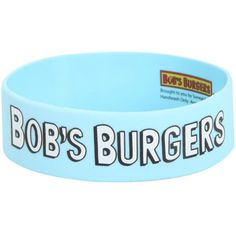 Best Bracelet 2017/ 2018 : Hot Topic Bob's Burgers Head Silhouettes Rubber Bracelet ($5.60) ❤ liked o...