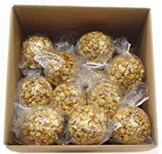 World's Best Popcorn Balls - Farm Bell Recipes Caramel Popcorn Balls Recipe, Marshmallow Caramel Popcorn, Popcorn Recipes, Candy Recipes, Caramel Corn, Fudge Recipes, Sweet Popcorn, Candy Popcorn, Popcorn Mix