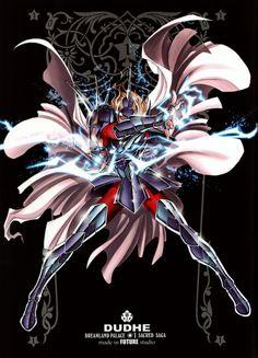 Males Saint Seiya Masami Kurumada Future Studio Saint Seiya Future Studio God Warrior Dubhe Alpha Siegfried
