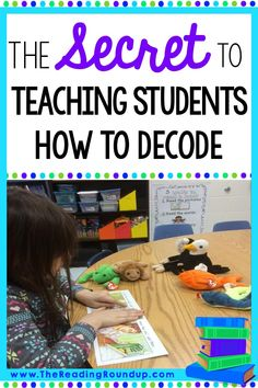 Do you want to know the secret to teaching your students how to decode? This guided reading strategy will help your students independently and successfully implement decoding strategies! Teaching Reading Strategies, Decoding Strategies, Guided Reading Groups, Teaching Phonics, Phonics Activities, Reading Lessons, Reading Activities, Reading Skills, Student Reading