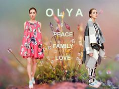 Fashion Times: New brand: OLYA. PEACE FAMILY LOVE BLOW-UP, Central Saint Martins, COLLAGE, color, creative, dreams, fashion, flower, freedom, Love, OLYA, ss15, мода, Оля Глаголева, стиль