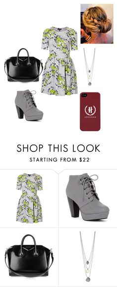 """""""Untitled #337"""" by meghan-white2 on Polyvore featuring Topshop and Givenchy"""