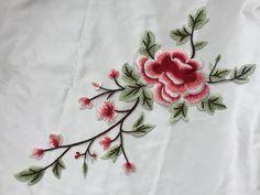 Spitzen-Applikationen gestickte Rose Blumen Patches von POPOLace