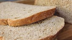 This light rye loaf for the bread machine has lots of caraway seeds and is sweetened with both brown sugar and molasses.