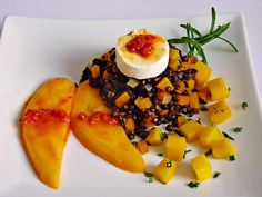 Linsensalat mit Mango und Ziegenkäse, ein sehr schönes Rezept aus der Kategorie Gemüse. Bewertungen: 71. Durchschnitt: Ø 4,5.