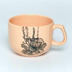 Tazón de cerámica beige Suculenta _POMELO