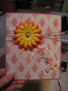 """Card says """"Thank you!"""""""