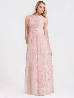 Lace Organza Dress