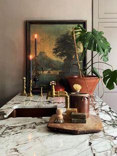Quirky Home Decor, Cheap Home Decor, Interior Design Inspiration, Home Decor Inspiration, Interior Design Kitchen, Interior And Exterior, Kitchen Worktop, Decoration, Home Kitchens
