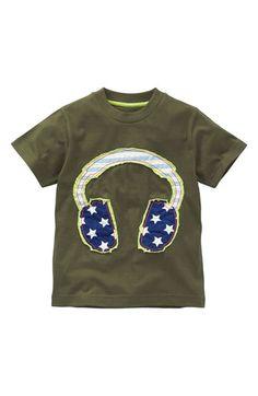 Mini Boden Music Applique T-Shirt