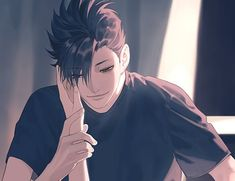 Haikyuu Kageyama, Kuroo Tetsurou, Haikyuu Fanart, Haikyuu Anime, Hinata, Anime Boys, Cute Anime Guys, Hot Anime Boy, Fanarts Anime