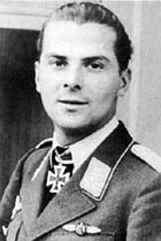 ✠ Hans-Dieter Frank (8 July 1919 – 28 September 1943) Killed in a mid-air…