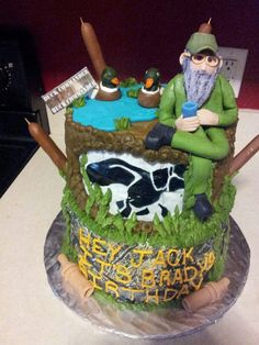 d by BaileighCakes duck dynasty!!!