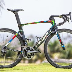 Peter Sagan's new custom Specialized Venge ViAS. Photo: @brakethrough_media