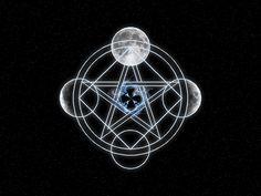 Pentagram Art | Pentagram Background by Faey