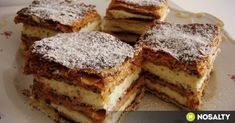 My Recipes, Sweet Recipes, Cake Recipes, Cooking Recipes, Hungarian Cake, Hungarian Recipes, Hungarian Food, Cracker Toffee, Fast Food Restaurant