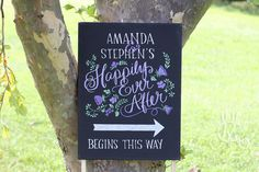 Happily Ever After Begins This Way greeting by MoulageCollection, $78.00
