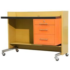 Designcraft Mid-Century Modern Desk on Chairish.com