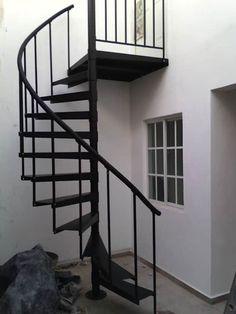 Luxury Staircase, Modern Staircase, Spiral Staircase, Stair Railing Design, Stair Decor, Small Space Staircase, External Staircase, Craftsman Style Bungalow, Casa Patio